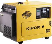Продам дизельный генератор KIPOR 6700